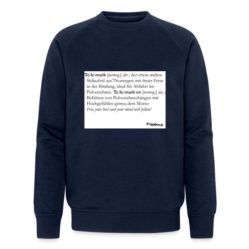 Telemark - die Definition - Männer Bio-Sweatshirt von Stanley & Stella