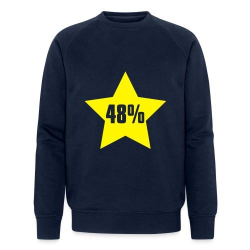 48% in Star - Men's Organic Sweatshirt