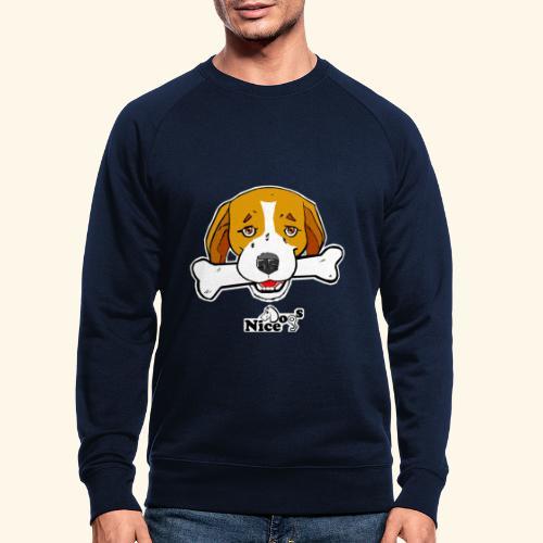 Nice Dogs Semolino - Felpa ecologica da uomo