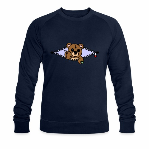 Bärchen - Männer Bio-Sweatshirt von Stanley & Stella