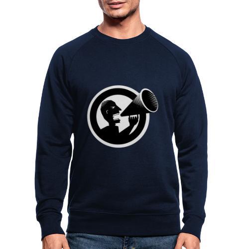 Der Schrei - Männer Bio-Sweatshirt