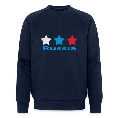 stars_russia - Männer Bio-Sweatshirt