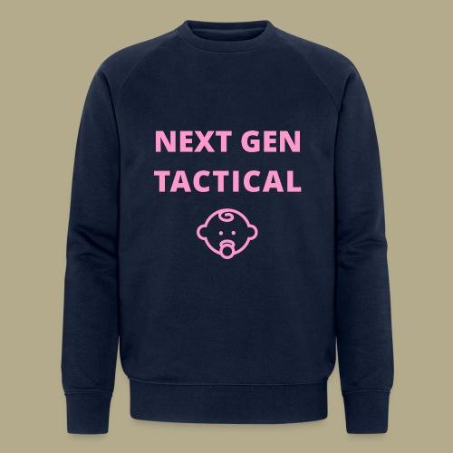 Tactical Baby Girl - Mannen bio sweatshirt