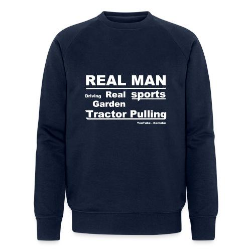 Real man - Økologisk sweatshirt til herrer