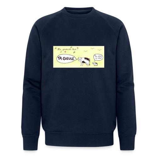 Vache pas laitière - Sweat-shirt bio Stanley & Stella Homme
