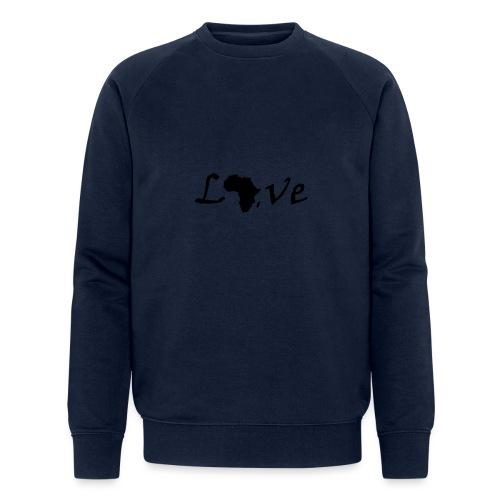 Love Africa - Männer Bio-Sweatshirt
