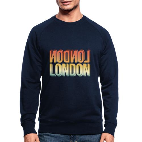 London Souvenir England Simple Name London - Männer Bio-Sweatshirt