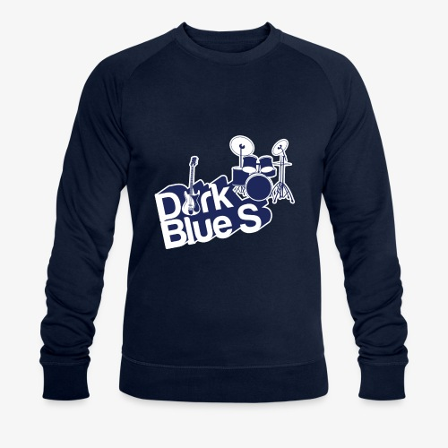 DarkBlueS outline gif - Men's Organic Sweatshirt by Stanley & Stella