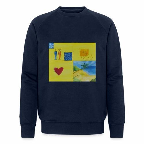 Viererwunsch - Männer Bio-Sweatshirt von Stanley & Stella