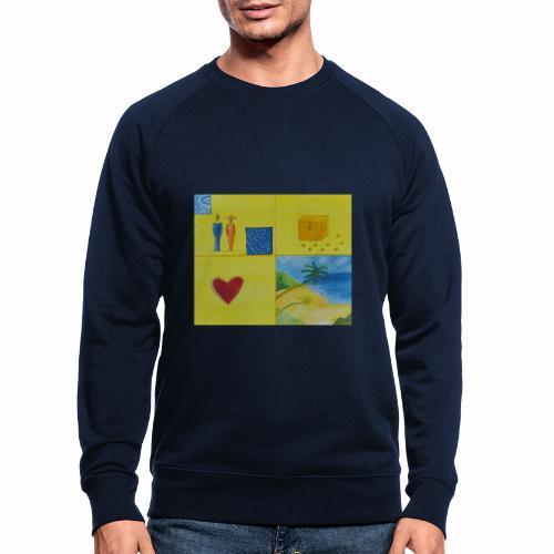 Viererwunsch - Männer Bio-Sweatshirt