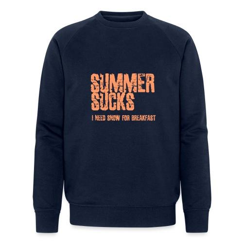 SUMMER SUCKS - Mannen bio sweatshirt van Stanley & Stella