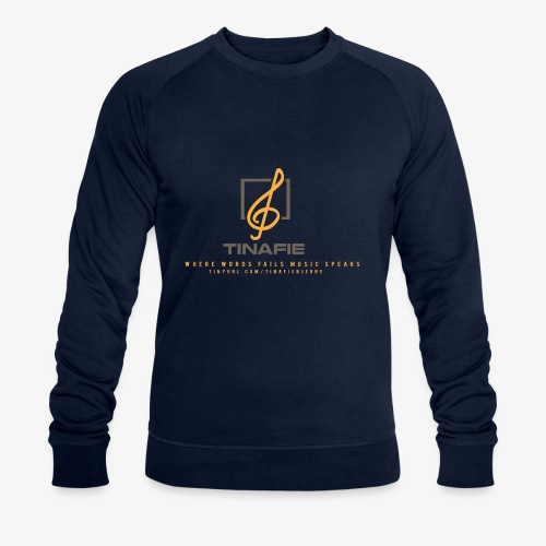 Where Words fails Music speaks!!! - Økologisk Stanley & Stella sweatshirt til herrer