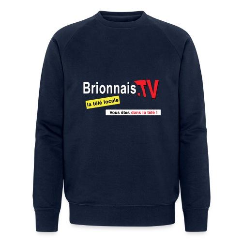 BTV logo shirt dos - Sweat-shirt bio Stanley & Stella Homme