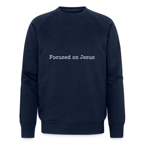 Focus on Jeusus - Männer Bio-Sweatshirt von Stanley & Stella