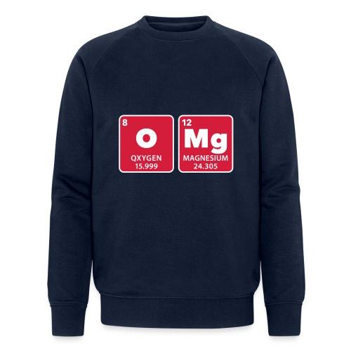 periodic table omg oxygen magnesium Oh mein Gott - Men's Organic Sweatshirt by Stanley & Stella