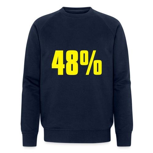 48% - Men's Organic Sweatshirt