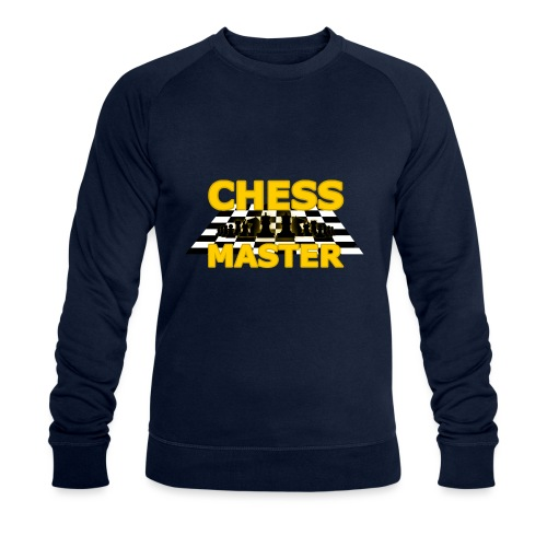 Chess Master - Black Version - By SBDesigns - Men's Organic Sweatshirt by Stanley & Stella
