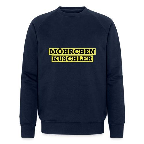 Möhrchenkuschler - Männer Bio-Sweatshirt von Stanley & Stella