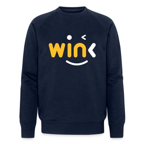 Wink Logo Merchandise - Men's Organic Sweatshirt by Stanley & Stella