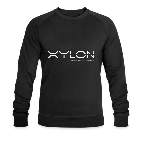 Xylon Handcrafted Guitars (name only logo white) - Men's Organic Sweatshirt by Stanley & Stella
