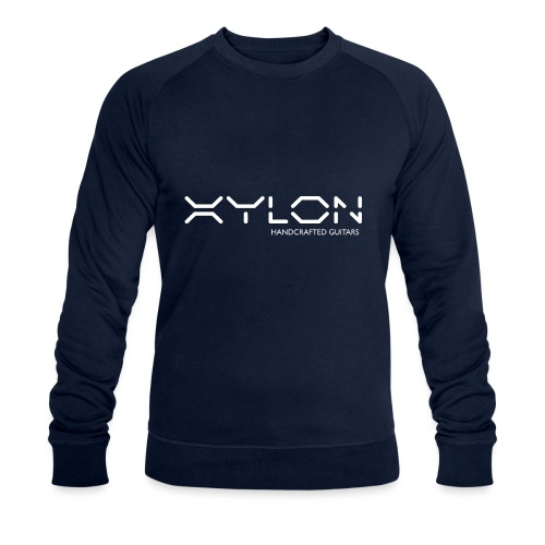 Xylon Handcrafted Guitars (name only logo white) - Men's Organic Sweatshirt by Stanley & Stella