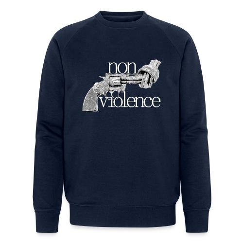NON-VIOLENCE - Ekologisk sweatshirt herr från Stanley & Stella