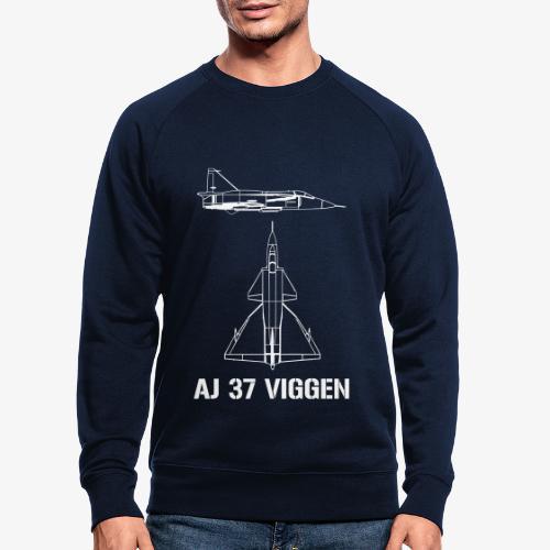 AJ 37 VIGGEN - Ekologisk sweatshirt herr
