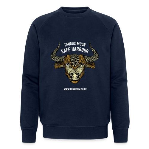 Taurus Moon Dark - Men's Organic Sweatshirt by Stanley & Stella