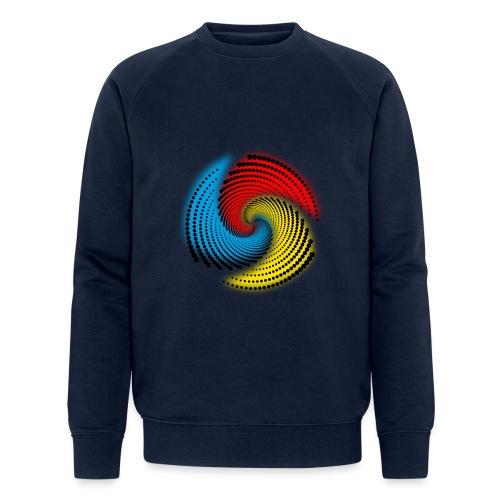 Farbspirale - Männer Bio-Sweatshirt