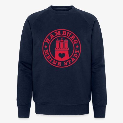 HAMBURG MEINE STADT Wappen 1c - Männer Bio-Sweatshirt von Stanley & Stella