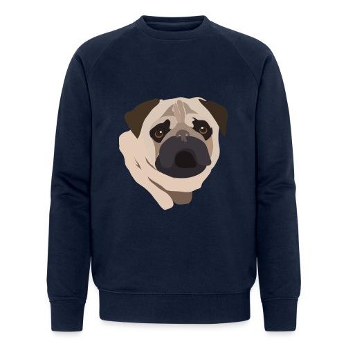 Pug Life - Men's Organic Sweatshirt by Stanley & Stella