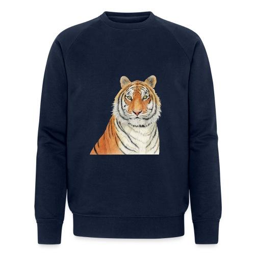 Tigre,Tiger,Wildlife,Natura,Felino - Felpa ecologica da uomo di Stanley & Stella