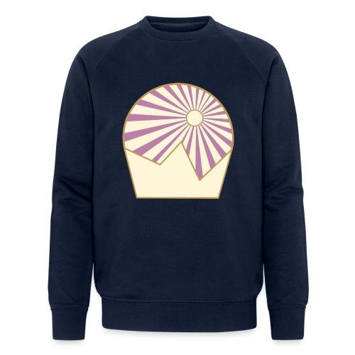 Logo Sun and Mountain - Männer Bio-Sweatshirt von Stanley & Stella