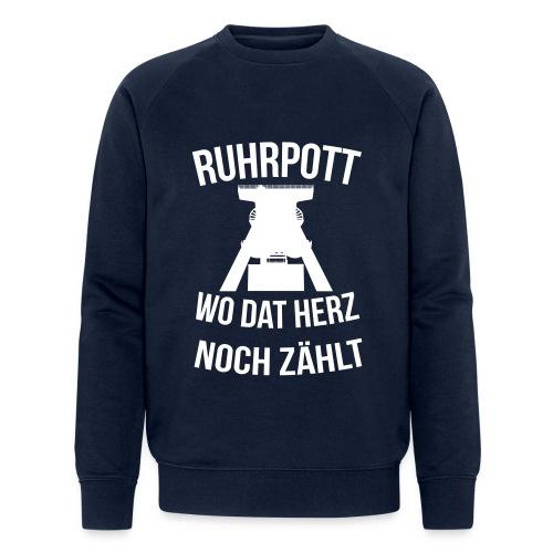 Ruhrpott - Wo dat Herz noch zählt - Männer Bio-Sweatshirt von Stanley & Stella