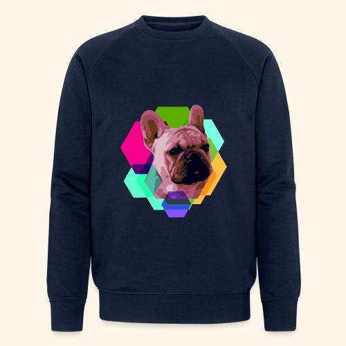 French Bulldog head - Sweat-shirt bio Stanley & Stella Homme