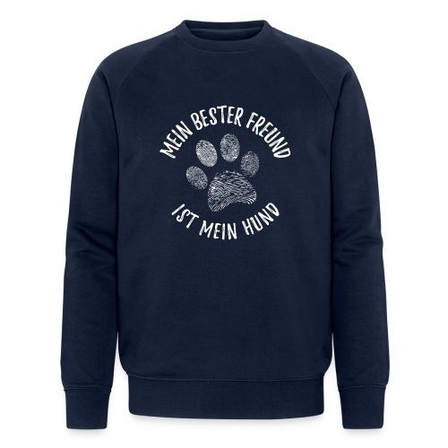 Vorschau: Mein Hund Bester Feund - Männer Bio-Sweatshirt von Stanley & Stella
