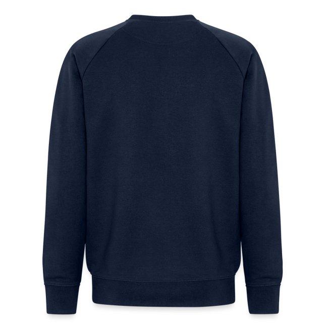 Vorschau: Vorsicht vor dem Reiter - Männer Bio-Sweatshirt