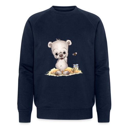 Noah der kleine Bär - Männer Bio-Sweatshirt von Stanley & Stella