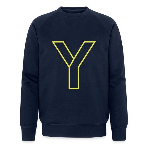 ChangeMy.Company Y Yellow - Männer Bio-Sweatshirt