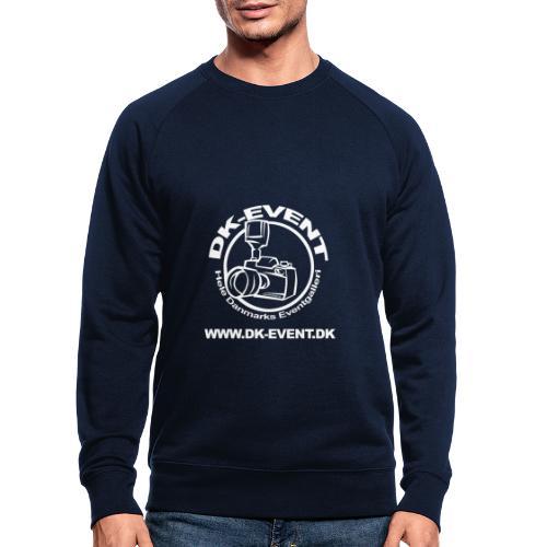 hvid trans - Økologisk sweatshirt til herrer