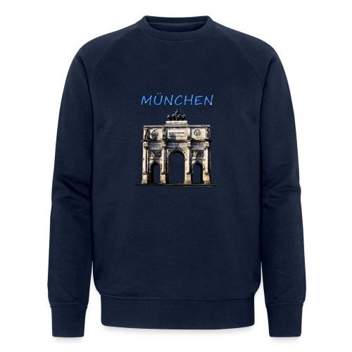 Münchnen Siegestor - Männer Bio-Sweatshirt