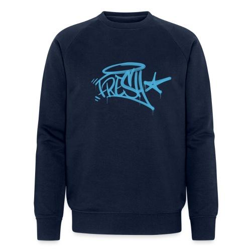 Fresh Graffiti Tag - Økologisk Stanley & Stella sweatshirt til herrer