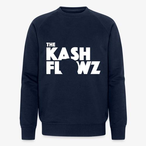 The Kash Flowz Official Logo White - Sweat-shirt bio Stanley & Stella Homme