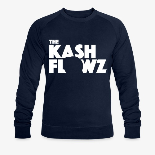 The Kash Flowz Official Logo White - Sweat-shirt bio Stanley & Stella Homme