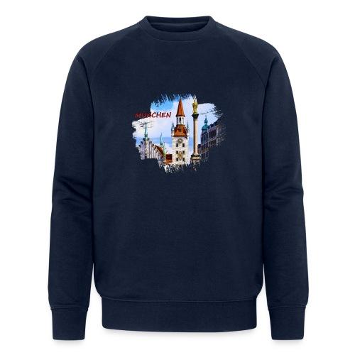 München Spielzeugmuseum und Altes Rathaus - Männer Bio-Sweatshirt