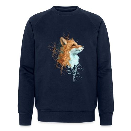 Happy the Fox - Männer Bio-Sweatshirt von Stanley & Stella