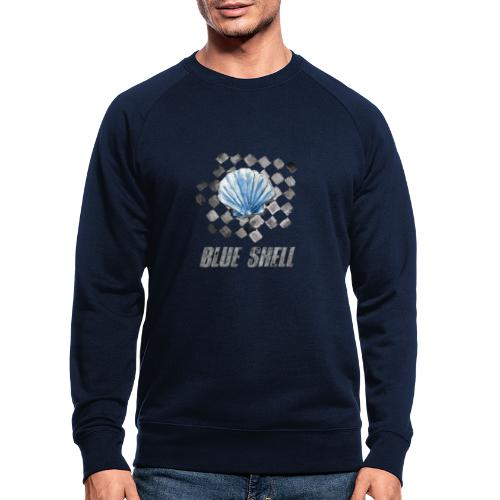 BLUE SHELL WINTER EDITION - Männer Bio-Sweatshirt