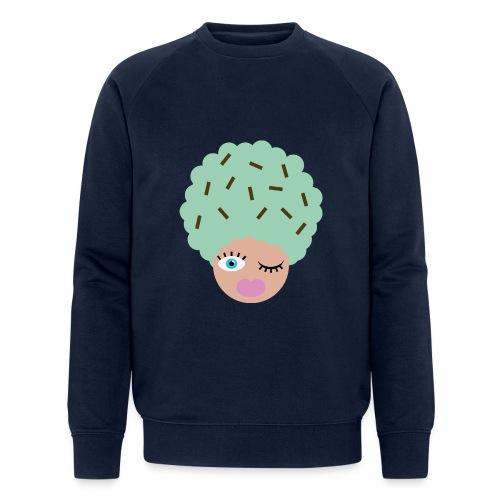 Ice cream - Økologisk sweatshirt til herrer