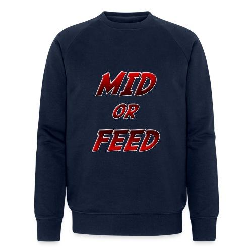 Mid or feed DONNA - Felpa ecologica da uomo