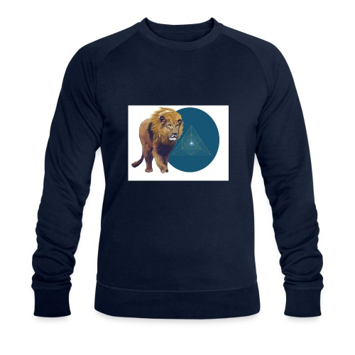 Löwe - Männer Bio-Sweatshirt